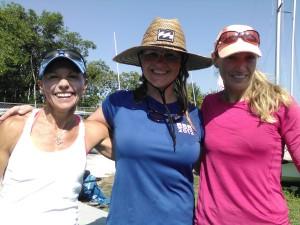 Monica Wilson, Christina Perrson, Kathleen Tocke at Goombay Regatta