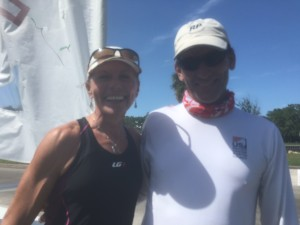 Monica Wilson and Pete Hansen at Treasure Coast Series #1
